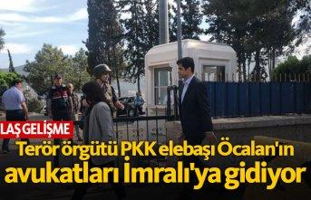 PKK elebaşı Abdullah Öcalan'ın avukatları...