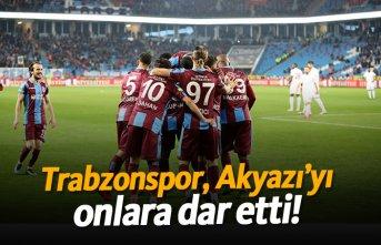 Trabzonspor, Akyazı'yı onlara dar etti!