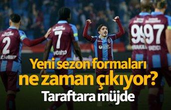 Trabzonspor'un yeni formaları ne zaman çıkacak?
