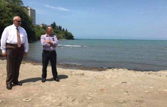 Başkan Çebi Plaj Düzenlemelerini Yerinde İnceledi