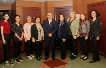 Kadın Girişimciler Borsayı ziyaret etti