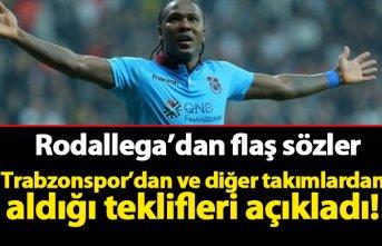 Rodallega'dan flaş transfer açıklaması! Trabzonspor...