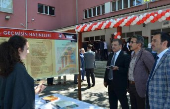 Trabzon Fen Lisesi TÜBİTAK Bilim Fuarı göz kamaştırdı