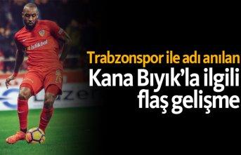 Trabzonspor ile adı anılan Kana Bıyık'la ilgili...