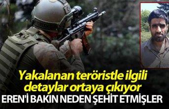 Yakalanan teröristle ilgili detaylar ortaya çıkıyor...