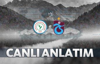Çaykur Rizespor - Trabzonspor | CANLI