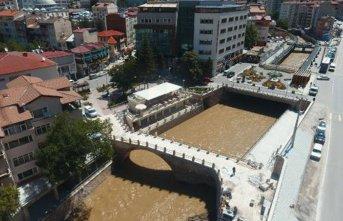 Gümüşhane'de 500 yıllık köprü restore edildi