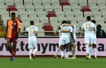 Galatasaray deplasmanda mağlup!
