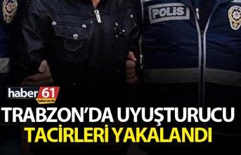 Trabzon'da uyuşturucu tacirleri yakalandı