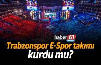 Trabzonspor E-Spor takımı kurdu mu?