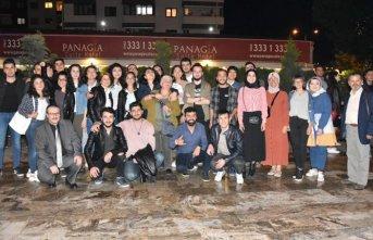 Uganda'dan Fransa'ya kadar Trabzon'da buluştular