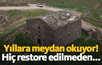 169 yıldır restore edilmeden ayakta