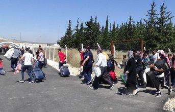 Suriyeliler bayram için ülkelerine gitti