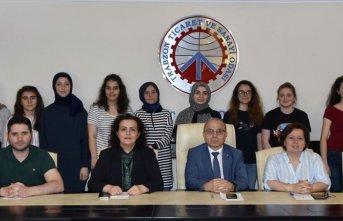 Trabzon'da Geleceği Yazan Kadınlar Projesi...