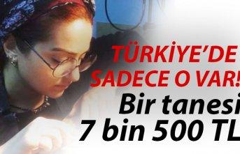 Türkiye'de sadece o var! İki buçuk ay sürüyor