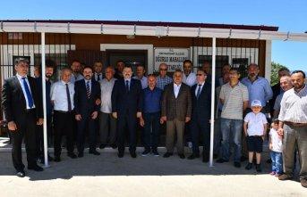 Uğurlu muhtarlık binası hizmete açıldı