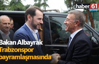 Bakan Albayrak Trabzonspor bayramlaşmasında