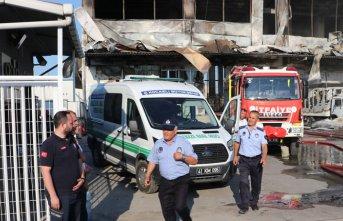 Feci yangında 4 işçinin cesedine ulaşıldı