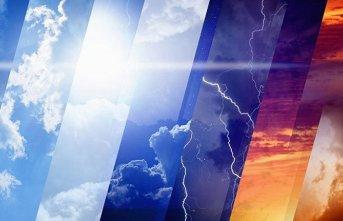 Yurtta hava durumu - 06.06.2019