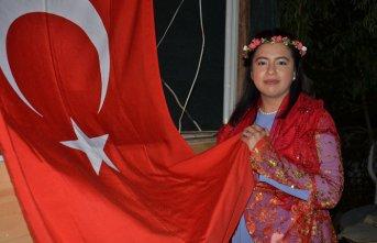 Amerikalı geline Türk usülü düğün