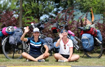 Bisikletle dünya turuna çıktılar! Artvin'de...