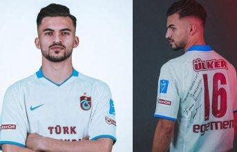 Egemen Korkmaz'dan Trabzonsporlu yıldıza forma...