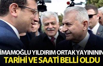 İmamoğlu Yıldırım ortak yayınının tarihi ve...