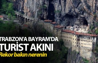 Trabzon'a Bayram'da turist akını - Rekor...