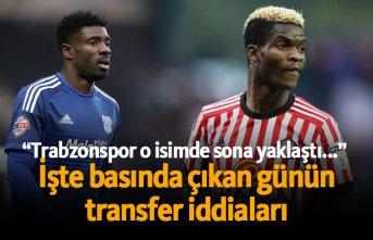 Trabzonspor transfer haberleri - 11.06.2019