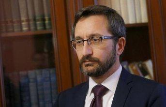 """Fahrettin Altun: """"Şehitlerimizin kanını yerde bırakmayacağız"""""""