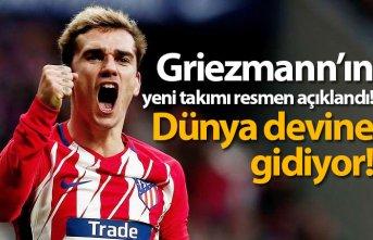 Griezmann'ın yeni takımı resmen açıklandı!
