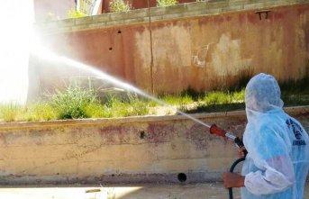Bayburt'ta sivrisinek ve haşereyle mücadele ediyor
