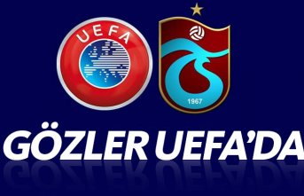 Trabzonspor'da gözler UEFA'da