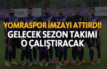 Yomraspor imzayı attırdı - Gelecek sezon takımı...
