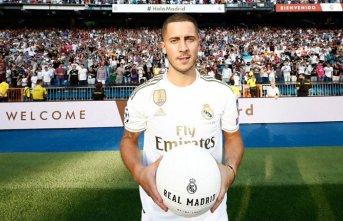 Hazard resmen Madrid'de!