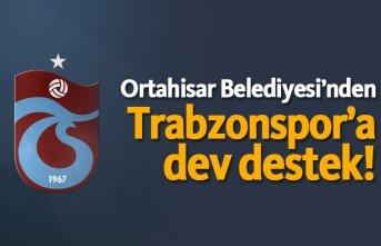 Ortahisar Belediyesi'nden Trabzonspor'a...
