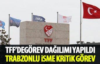 TFF'de görev dağılımı yapıldı! Trabzonlu isme kritik görev!