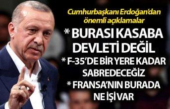 Cumhurbaşkanı Erdoğan: S-400'den taviz vermeyeceğiz,...