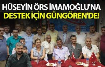 Örs İmamoğlu'na destek için Güngören'de!