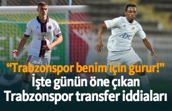 Trabzonspor için günün transfer iddiaları - 16.06.2019