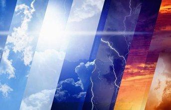 Yurtta hava durumu - 16.06.2019