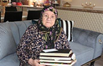 85 yaşındaki Hatice Nine, bakın ne istiyor