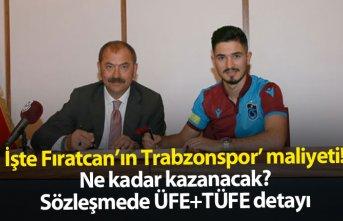 İşte Fıratcan Üzüm'ün Trabzonspor'a...