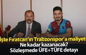 İşte Fıratcan Üzüm'ün Trabzonspor'a maliyeti