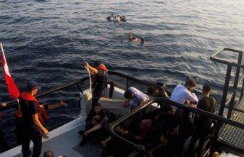 Muğla'da göçmen teknesi battı!