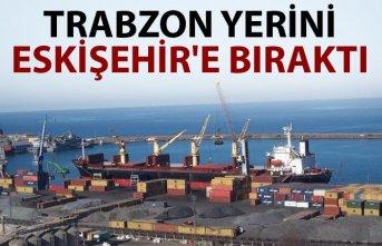 Trabzon yerini Eskişehir'e bıraktı