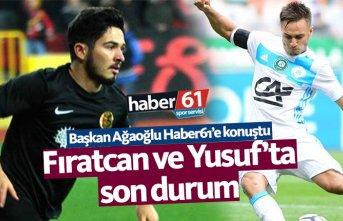 Trabzonspor'un Yusuf ve Fıratcan transferinde son durum