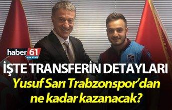 Trabzonspor Yusuf Sarı transferinin detaylarını açıkladı