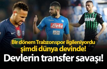 Bir dönem Trabzonspor ilgileniyordu, şimdi dünya...