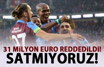 Trabzonspor'dan 31 Milyon Euro'luk RET!...